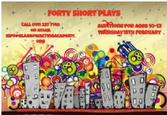 Forty Short Plays Audition